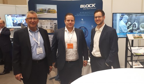 Obrázek k aktualitě BLOCK on the Pharma Congress Production & Technology in Düsseldorf