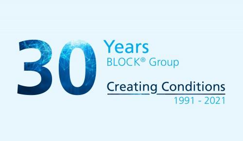 Obrázek k článku 30th anniversary BLOCK® Group