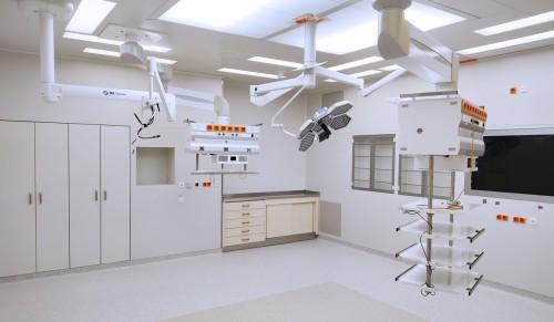 Obrázek k článku The opening of operating-rooms of the IKEM Transplant Surgery Clinic