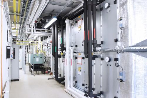 Obrázek k referenci Kayaku Safety Systems Europe a.s., Czech Republic, Production Bulding No. 163
